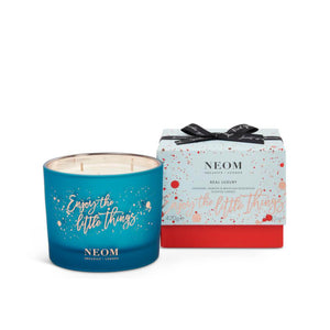 Neom Real Luxury 3 Wick Limited Edition Candle