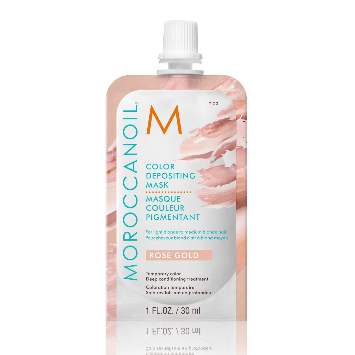 Moroccanoil Color Depositing Mask Sachet Rose Gold