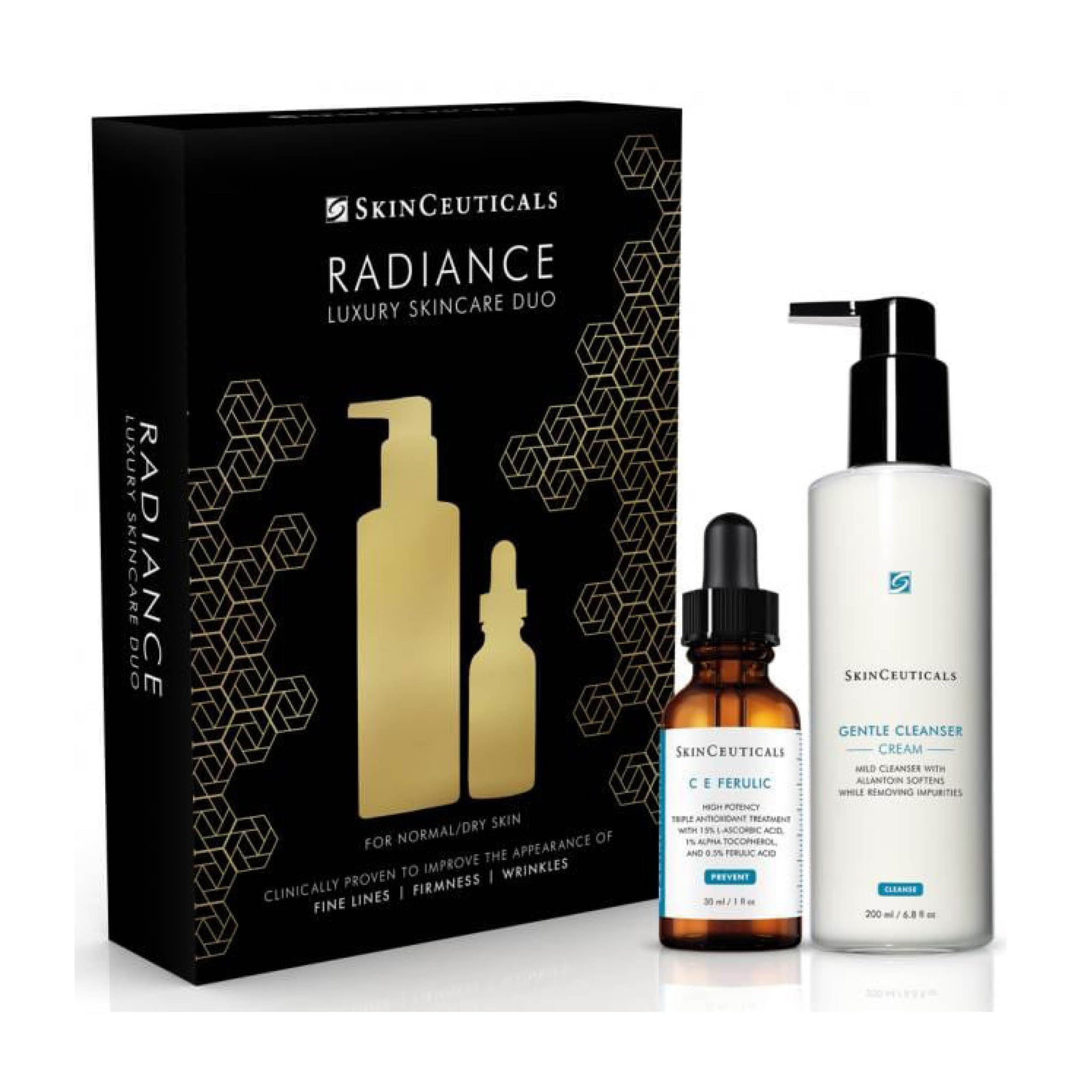 SkinCeuticals Radiance Luxury Skincare Duo Gift Set