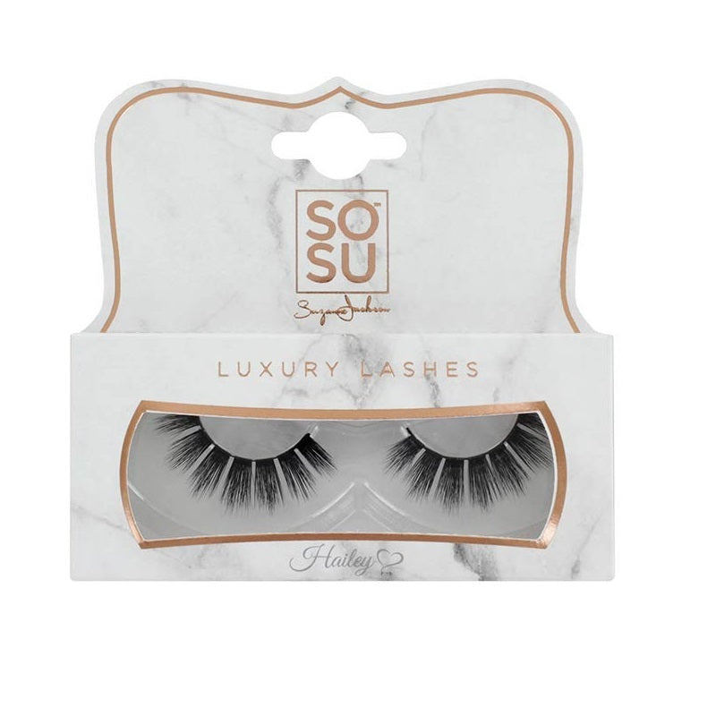 SOSU 3D Fibre Luxury Eyelashes Hailey