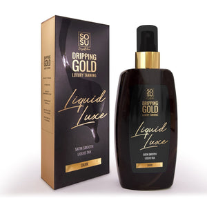 SOSU Dripping Gold Liquid Luxe Dark