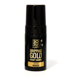 SOSU Dripping Gold Medium Mousse Travel Size