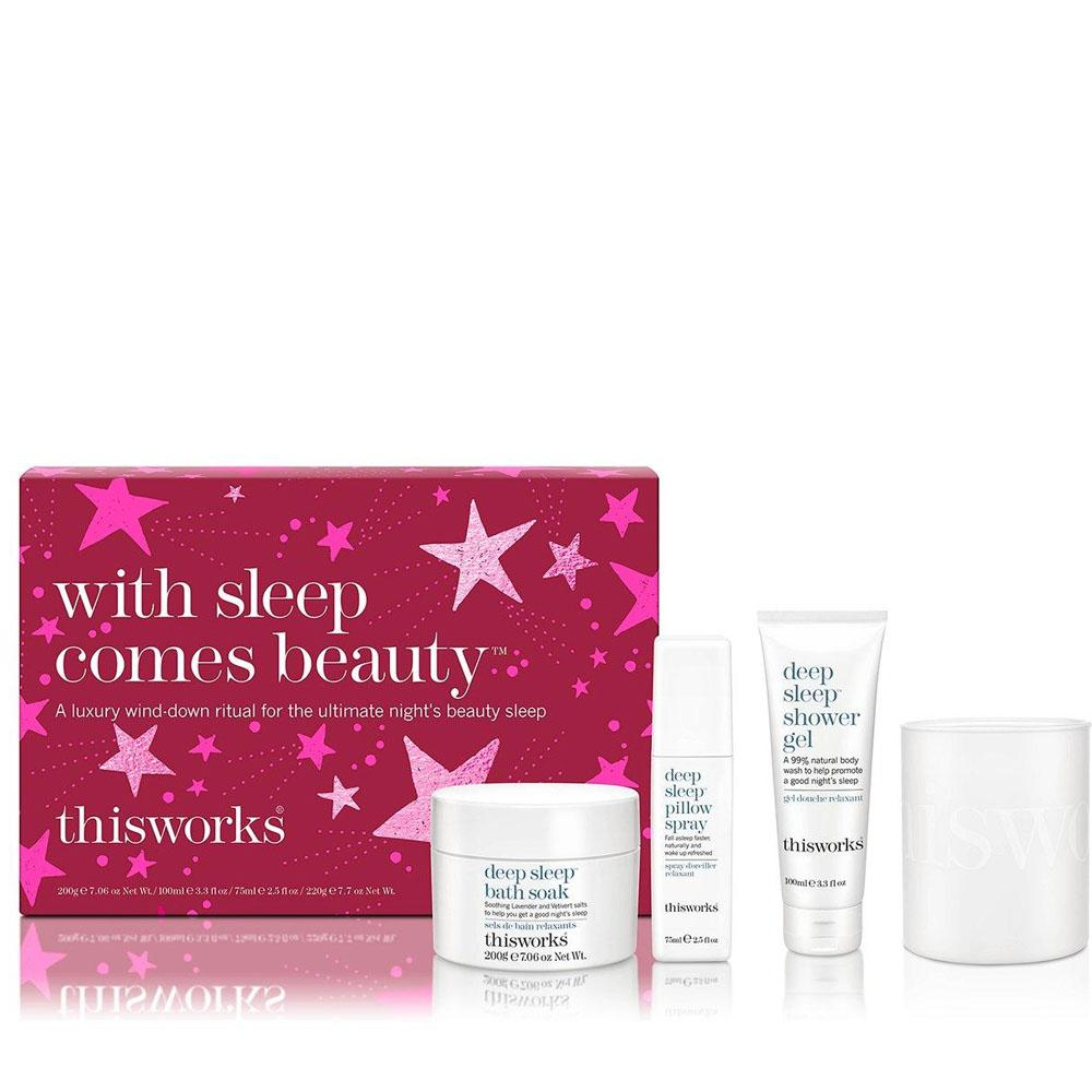 thisworks With Sleep Comes Beauty Gift Set