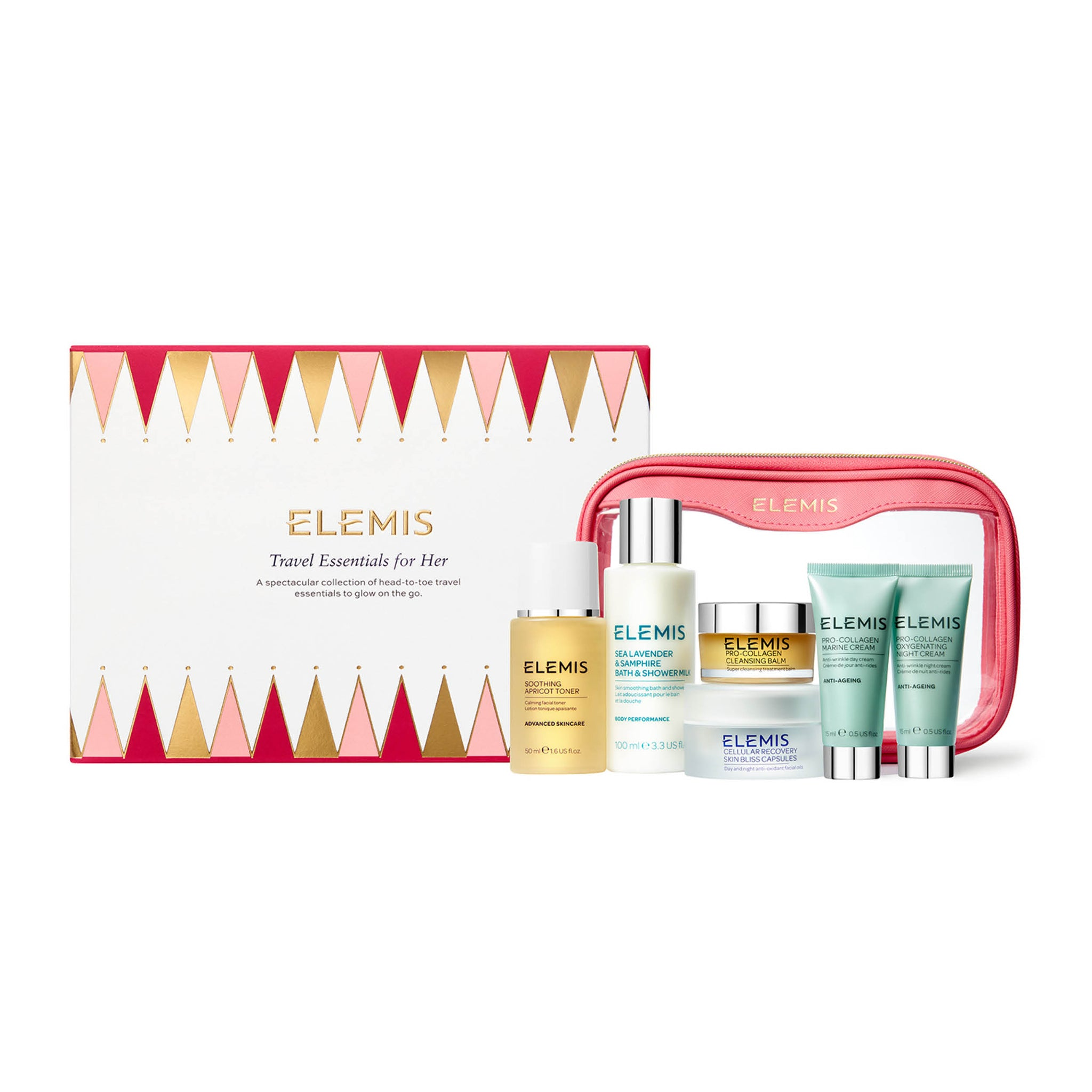 Elemis Travel Essentials Gift Set for Her
