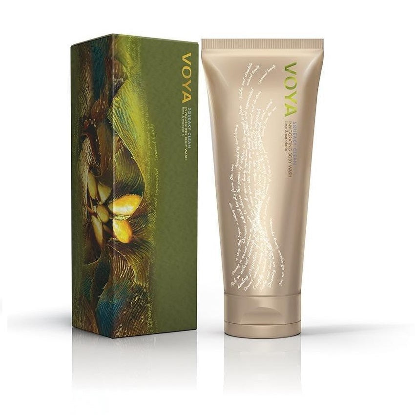 VOYA Squeaky Clean Invigorating Body Wash