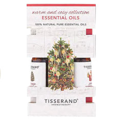 Tisserand Warm & Cosy Collection Essential Oils