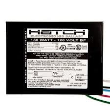 Hatch MC150-1-J-120U - 150W Electronic Metal Halide Ballast