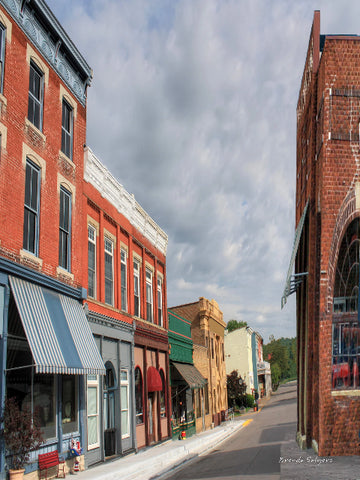 Augusta,Kentucky S Main St. Giclee Print, Fine Art Paper Canvas or Wood by Brenda Salyers by Brenda Salyers - BSAhomegoodies.com