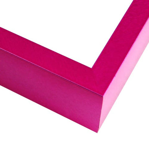 Bold Fuchsia Metal Picture Frame