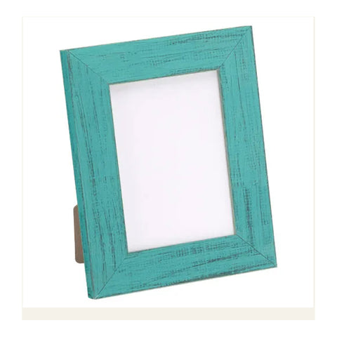 French Teal Tabletop Picture Frame