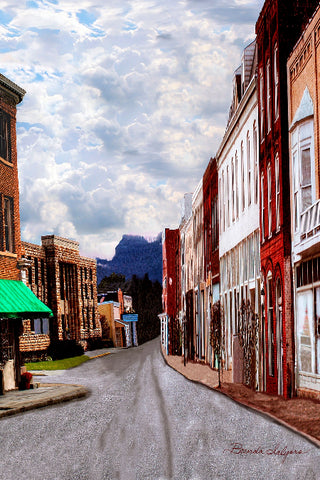 Irvine Kentucky by Brenda Salyers, Fine Art Giclee Print on Paper Canvas or Wood by Brenda Salyers Arts - BSAhomegoodies.com
