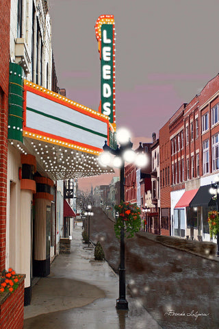 Leeds Center for the Arts Winchester Kentucky Fine Art Giclee Print on Paper Canvas or Wood by Brenda Salyers Arts - BSAhomegoodies.com