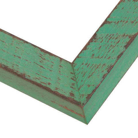 Mint Green Wood Picture Frame