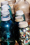 Jars Fine Art Giclee Print on Paper Canvas or Wood by Brenda Salyers by Brenda Salyers Arts - BSAhomegoodies.com