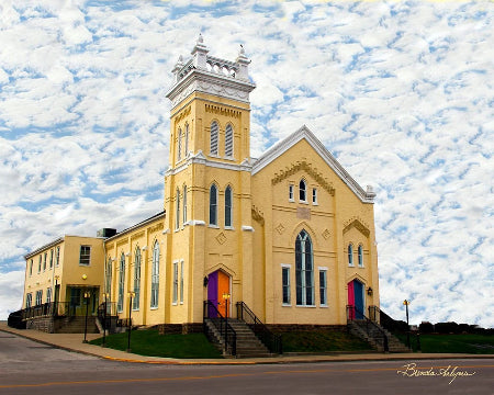 Gateway Regional Art Center Mt Sterling Kentucky Fine Art Giclee Print on Paper Canvas or Wood by Brenda Salyers Arts - BSAhomegoodies.com