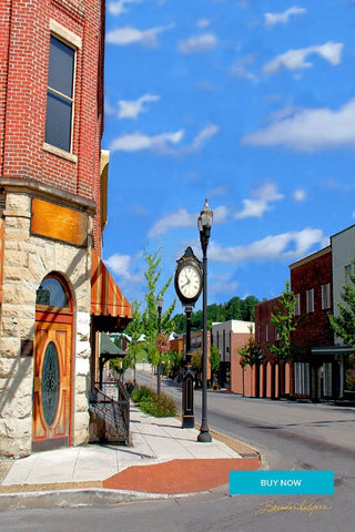 London Kentucky Fine Art Giclee Print on Canvas Paper or Wood by Brenda Salyers Arts - BSAhomegoodies.com