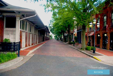 Paducah Kentucky Fine Art Giclee Print on Paper Canvas or Wood by Brenda Salyers Arts - BSAhomegoodies.com