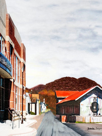 Morehead Kentucky First Street, Giclee Print on Fine Art Paper Canvas or Wood by Brenda Salyers Arts - BSAhomegoodies.com