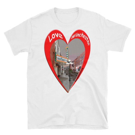 T SHIRT Love Winchester Kentucky Short-Sleeve Unisex T-Shirts - BSAhomegoodies.com