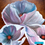 White Hibiscus, Morehead, Kentucky, Giclee Print on Fine Art Paper Canvas or Wood by Brenda Salyers Arts - BSAhomegoodies.com
