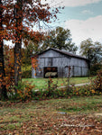 Tobacco Barn Frenchburg Kentucky Fine Art Print on Paper Canvas or Wood by Brenda Salyers Arts - BSAhomegoodies.com