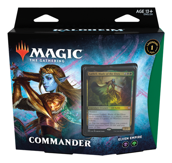 MTG KALDHEIM COMMANDER DECK - ELVEN EMPIRE (Available Feb 5)