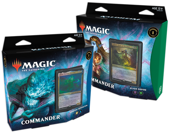 MTG KALDHEIM COMMANDER DECK BUNDLE - 2 DECKS (Available Feb 5)