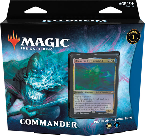 MTG KALDHEIM COMMANDER DECK - PHANTOM PREMONITION (Available Feb 5)