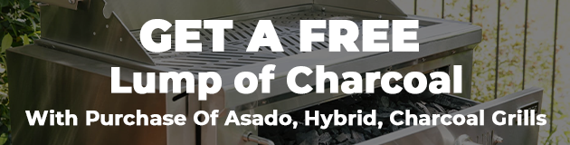 Free Charcoal With Hybrid, Asado and Charcoal Grills