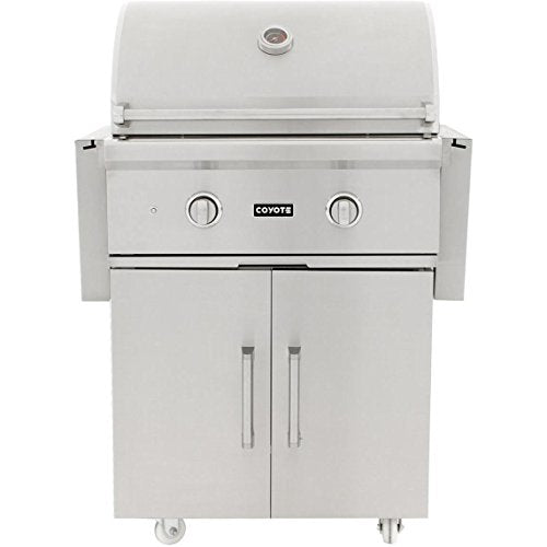 "C-Series 28"" Freestanding Gas Grill - Coyote Gas Outdoor Refrigerator S & C Series Grill"