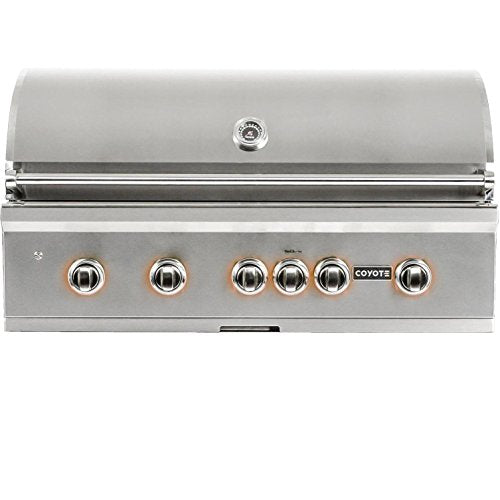 "Coyote S-Series 42"" Rapid Sear Built In Gas Grill - Coyote Outdoor Built In Gas Grill"