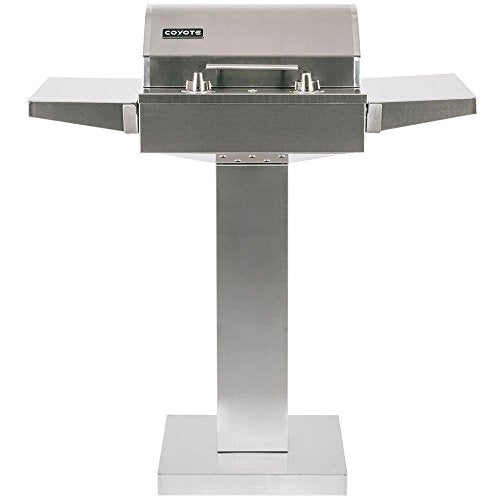 Electric Grill on Patio -  Coyote Gas Electric BBQ Grill & Parts & Appliances