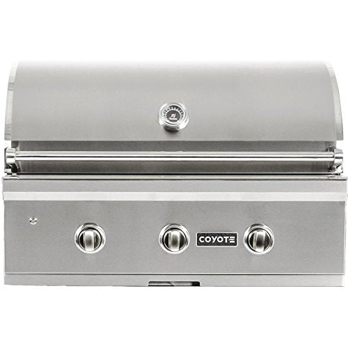 "Coyote C-Series 34"" Grill Built In - Coyote Gas Electric BBQ Grill & Parts & Appliances"
