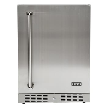 "24"" Coyote Refrigerator With Right Hinge  - C1BIR24-R"