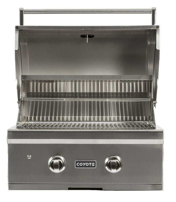 "C-Series 28"" Freestanding Gas Grill - Coyote Built In Outdoor Gas Grill"
