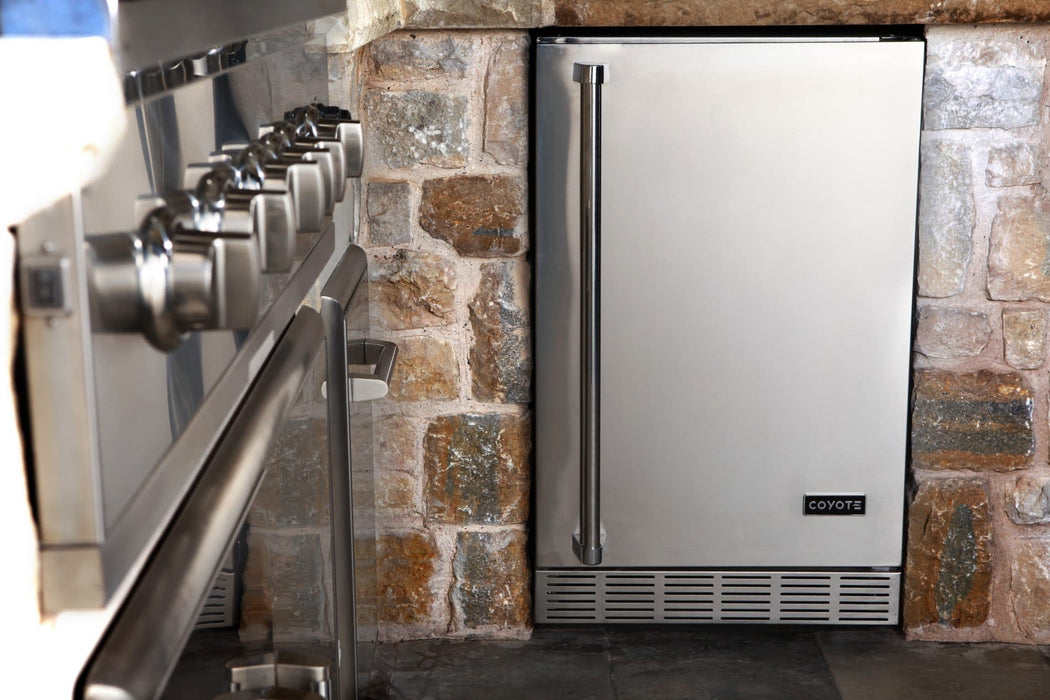 "21"" Coyote Refrigerator With Right Hinge  - CBIR-R"