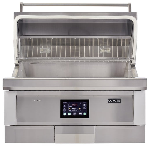 "36"" Coyote Built-In Pellet Grill"