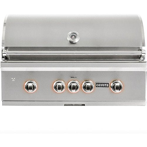"Coyote S Series 36"" Rapid Sear Built In Gas Grill - Coyote Outdoor Built In Gas Grill"