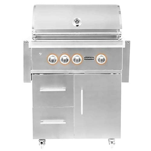 "Coyote S Series 30"" Rapidsear Grill - Coyote Outdoor Gas S Series Grill"