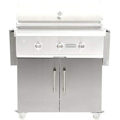 "Coyote 34"" C-Series Grill  C1C34CT Cart - Coyote Gas Electric Grill Cart"