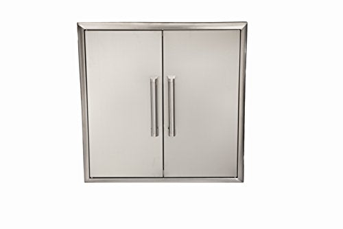 "Coyote CDA2426 26"" Double Access Door - Coyote Outdoor Living Appliances & Accessories"