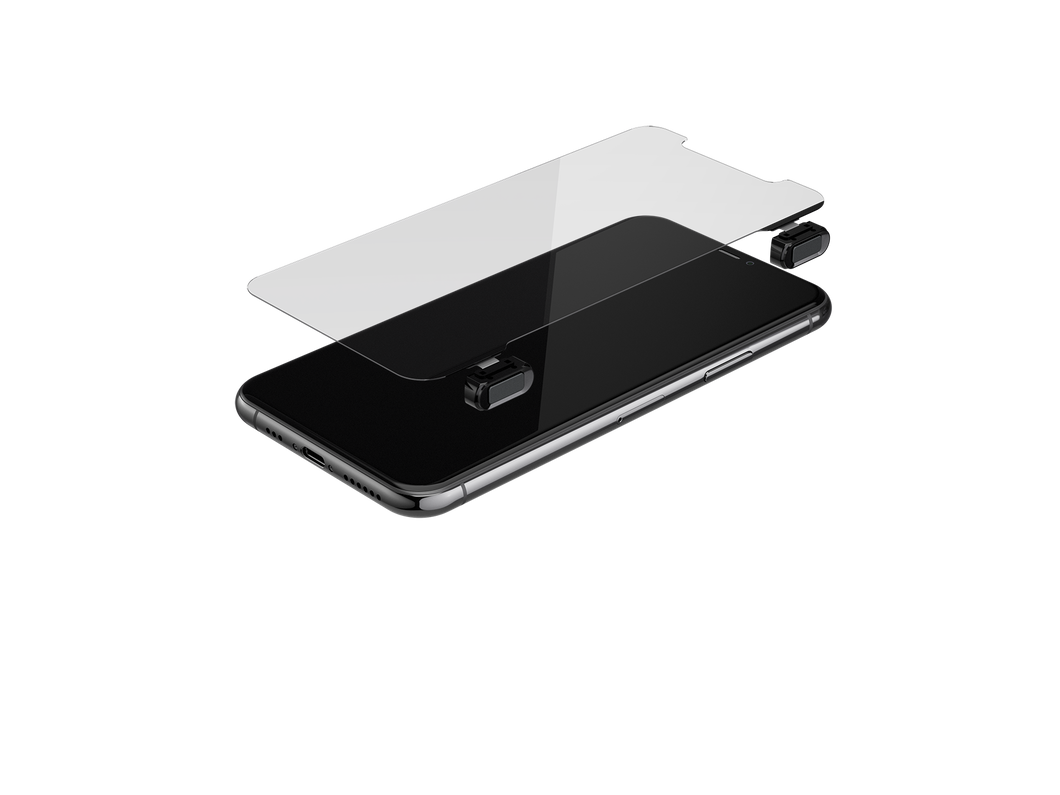 Gaming Glass Screen Protector for iPhone 11 Pro - Black Button Version