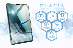 GLACIA Tempered Glass Screen Enhancer for iPad Pro 12.9""