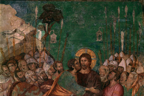 13th C Master of Christ's Capture showing early bill
