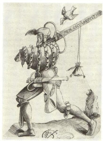 Durer The Returning Landsknecht