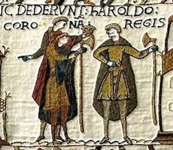 Bayeux Tapestry Axes