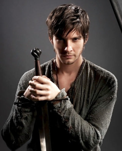 Ben Barnes with the Schloss Erbach Sword
