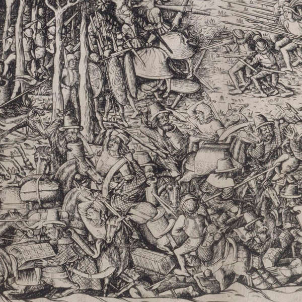 Detail from the Battle of Fornovo