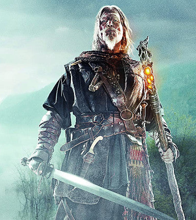 Jeff Bridges with German BAstard Sword and Saxon Parrying Dagger in the Seventh Son Movie