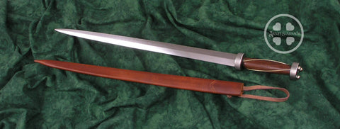 Custom Rondel from A&A with scabbard and grip detail.